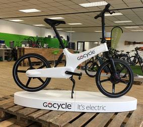 Das Gocycle G3 ist in unserer e-motion e-Bike Welt Bielefeld eingetroffen