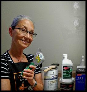 Judith Haynes, manager Upper Village Paint & Wallpaper