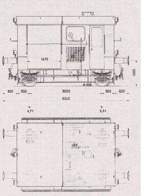 Bild: VRS, Verein Rollmaterialverzeichnis Schweiz