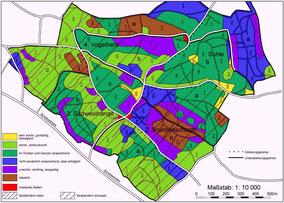 Forstbetriebskarte Waldästhetik, Beispiel