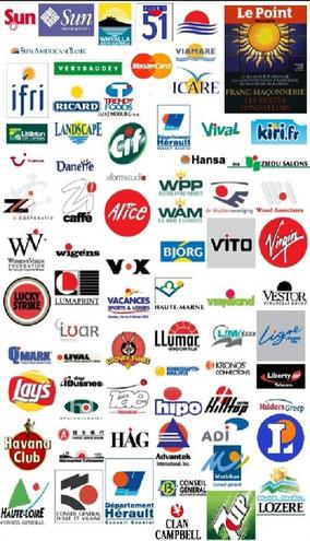Logos d'institutions basés sur le cercle - Cliquer pour agrandir