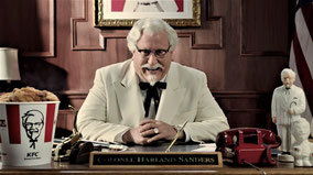 Colonel Sanders - KFC (Kentucky Fried Chicken).