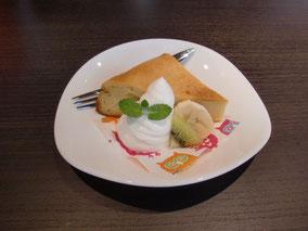 本日のケーキ:「さつまいものケーキ」