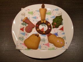 今回も、かわいい「クッキー」でおもてなし・・・