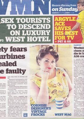 Western Morning News on Sunday