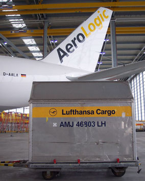 Soon, LH Cargo will have two B777Fs operated by Joint Venture partner AeroLogic  -  photos: hs