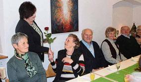 Hermann und Maria Krapfl sind seit 65 Jahren verheiratet.