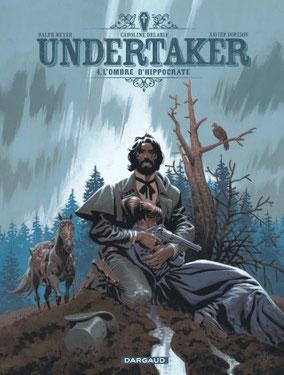 Couverture Undertaker tome 4 : l'ombre d'Hippocrate Dorison-Mayer