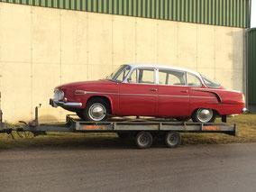 Tatra 603 Oldtimer Entfernung Unterbodenschutz