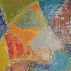 Formen in vielfältigen Farben und Flächen