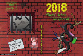 Direct-Action-Kalender 2018 - Vor-Rückansicht