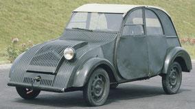 Prototype 2CV en 1939