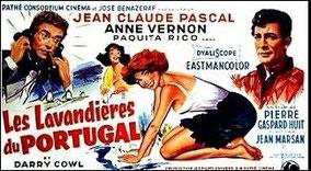 """Affiche du film """"les lavandières du Portugal"""""""