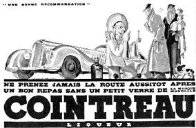 Publicité pour Cointreau