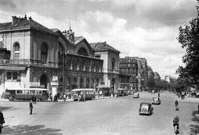 Gare Montparnasse dans les années 50