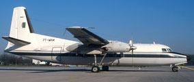 Fokker 27 l'un des avions équipés de renifleurs