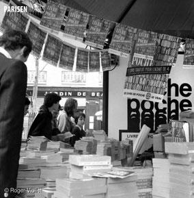 Le livre de poche en bonne place à la fête du livre au plateau Baubourg (photo La Parisienne de Photographie)