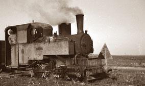 Train betteravier ligne de Pithiviers à Toury