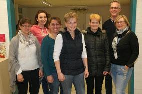 Der Vorstand des Fördervereins ist gut aufgestellt. Foto: SZ- kurt efinger