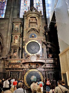 Die astronomische Uhr im Straßburger Münster