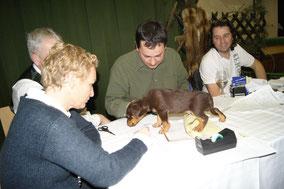 LO DJT Club Kärnten DI Martin Huber (Mitte) und Tierarzt Dr. Gerhard Ohnmacht (rechts)