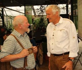 Experten unter sich - Josef Siedler und MF Josef Tabernig