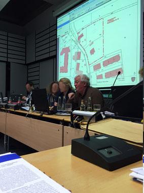 Zweiter Bürgermeister Alfred Widmann leitete zeitweise die Gemeinderatssitzung