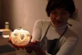 キャンドル工房Aotama-Tamariオーナー写真