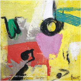 Oeuvres d'Art Uniques- Peinture Abstraite Contemporaine- Collection Abstrait