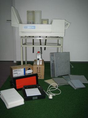 Röntgenbildentwickler CAWO Cawomat 2000 IR & Zubehör für Medizin und Praxis
