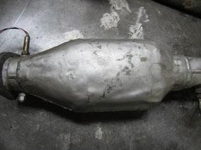 マセラティ 2224V  旧車 触媒 修理