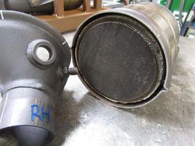 F355 触媒 修理