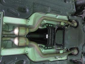 ベンツ E55 ステーションワゴン 触媒修理