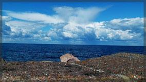 An der Küste von Sandvik/Öland
