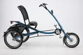 Scootertrike mit Elektromotor
