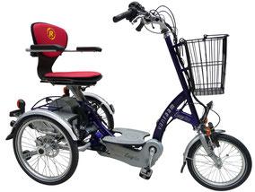 Van Raam Scooter Dreirad Easy Go für Contergan Geschädigte - Dreiräder vom Experten in der Schweiz