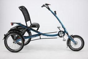 Elektrodreiräder für mehr Komfort