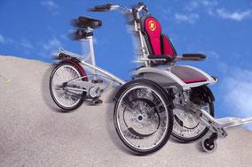 Rollstuhldreirad Van Raam O-Pair 2