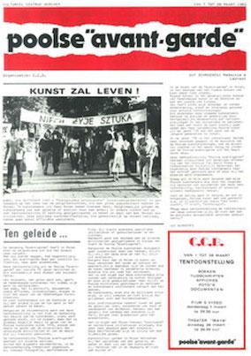 Poolse Avant Garde, Guy Schraenen Archive for Small Press & Communication A.S.P.C.