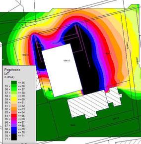 Bild klicken: zum Leistungsspektrum von noise.business