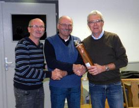 vlnr.: Franz Herzgsell, Hans Feldbauer, Hans Neumeier