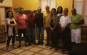 L'équipe Franco-Libanaise