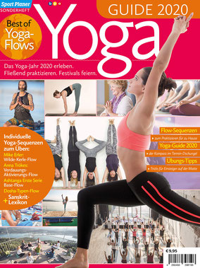 Sport Planer Yoga Magazin - Yoga Guide - Best of Yoga-Flows