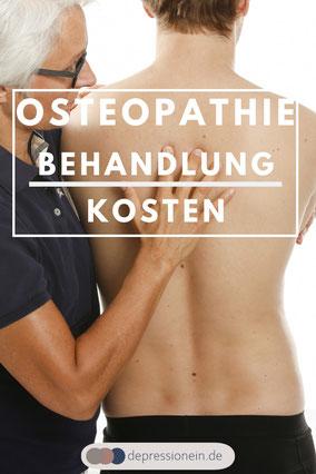 Osteopathie Behandlugskosten depressionein.de Foto: VOD