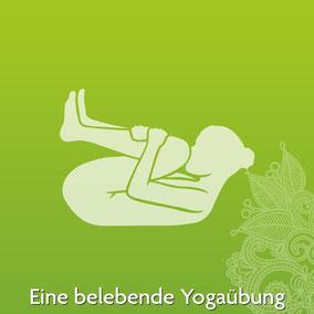 Yoga Übung für Anfänger - Eine belebende Yoga Übung