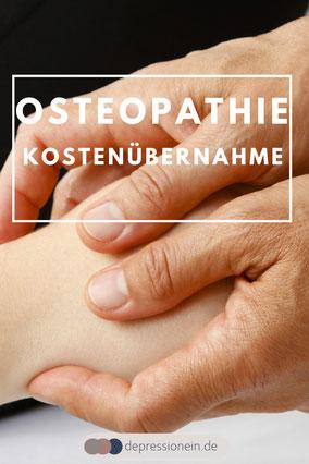 Osteopathie Kostenübernahme - depressionein.de TK Informationen Foto: VOD