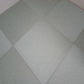 カラー畳(縁無し畳) 樹脂表 セキスイ美草 市松グリーン使用 畳表替え 半畳9枚 市松敷き 施工例へ