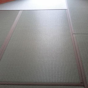 樹脂表 気分草快使用 畳表替え 6畳 施工例へ