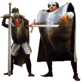 Dicke Ritter und wache Wächter
