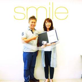 with Mrs.Miyuki Fukumura(2015-07-30)